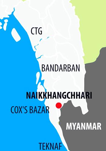 myanmar-border-map