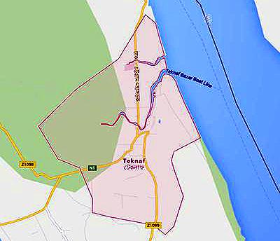 teknaf-map